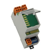 Устройство для обеспечения связи одного Modbus RTU (RS232) slave устройства с двумя Modbus RTU master (2xRS485). Питание 8-19 VAC, 8-35 VDC.