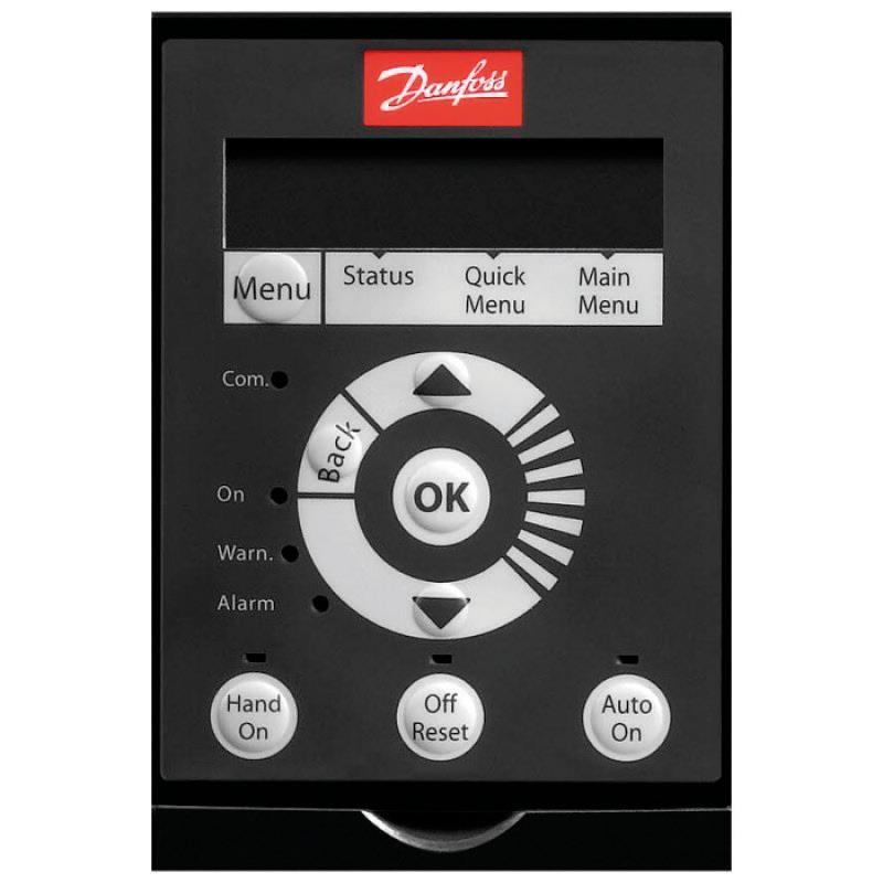 Частотный преобразователь Danfoss VLT® HVAC Basic Drive FC-101 0,37 кВт, 1.2А, 3х380-480 В
