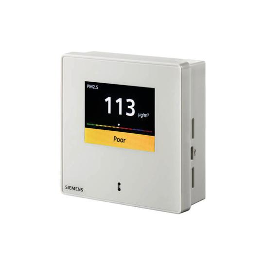 Концентрация пыли (2 канала измерения: 0,3..2,5pm, 0,3..10,0pm)