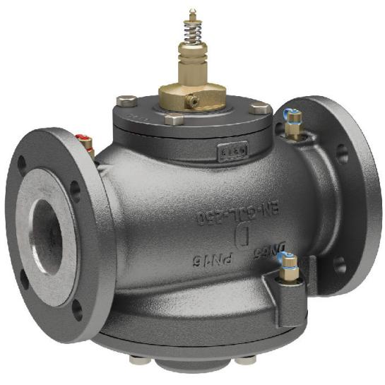 Комбинированные клапана AB-QM DN40-100 под привод NovoCon M