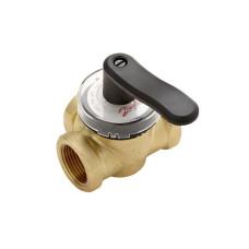 Регулирующий поворотный клапан Danfoss серии HRB 3 DN25 Kvs=10 065Z0407