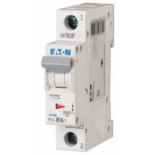 Автоматический выключатель PL6-C16/1