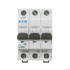 Автоматический выключатель PL6-B16/3