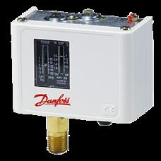 Реле давления Danfoss KP35 (-0,2 - 7,5 бар) G1/4