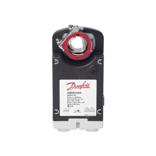 Электропривод для воздушной заслонки Danfoss AMD610, 20Нм, 24В, Откр/Закр 082H1118
