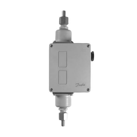 Дифференциальное реле давления Danfoss RT 262A (-1 - 9 бар, 0.1-1.5 бар) 3/8 G